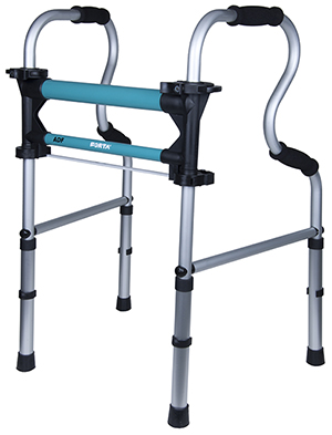 Dual function walking frame ADF