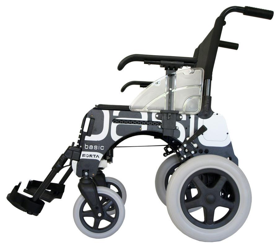 Caracter sticas de la silla de ruedas basic de forta - Sillas de ruedas estrechas ...