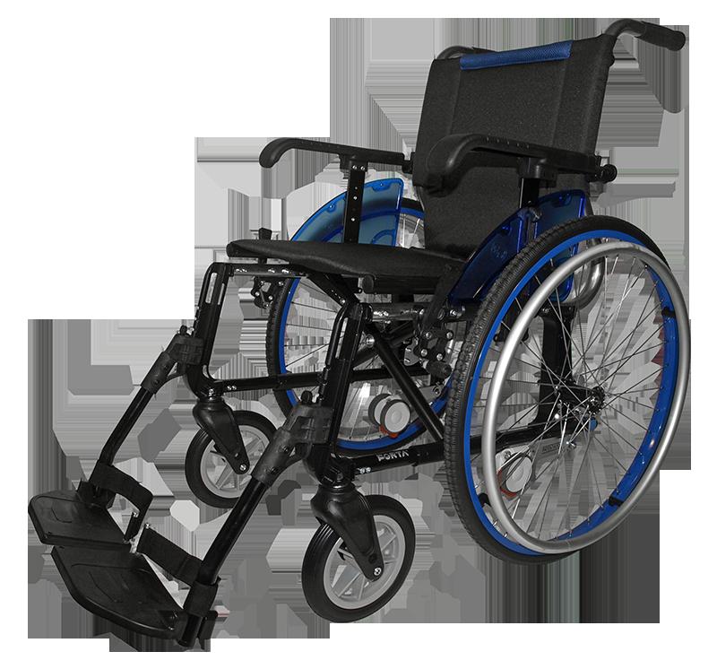 Caracter sticas de la silla de ruedas line giro de forta - Sillas de ruedas estrechas ...