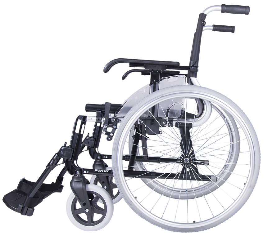 Caracter sticas de la silla de ruedas line de forta - Ruedas de sillas ...