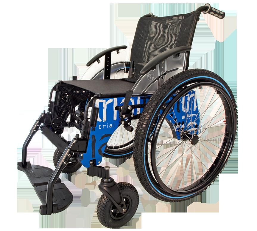 Caracter sticas de la silla de ruedas trial playa de forta - Minos sillas de ruedas ...