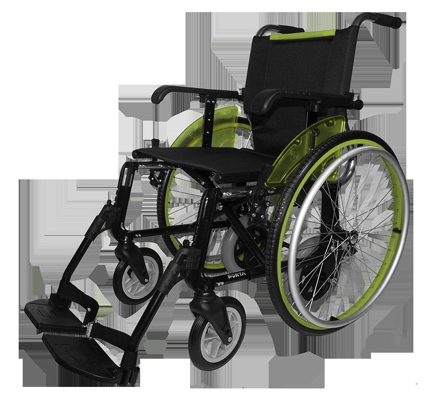 silla de ruedas forta