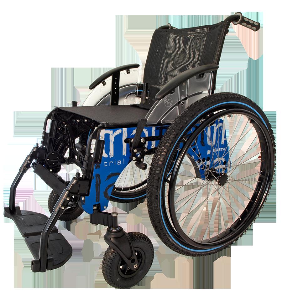 Caracter sticas de la silla de ruedas trial playa de forta - Silla para la playa ...